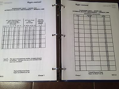 Gates LearJet 35A & 36A with FC-200 Autopilot Airplane Flight Manual