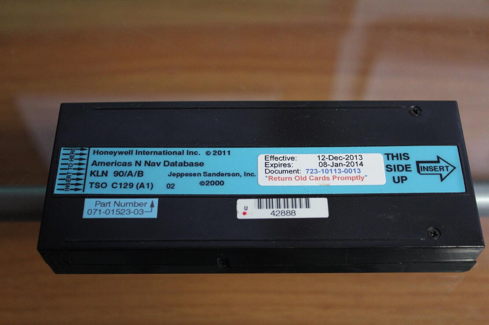 Honeywell Nav Database for Bendix/King KLN 90 A/B (USED)