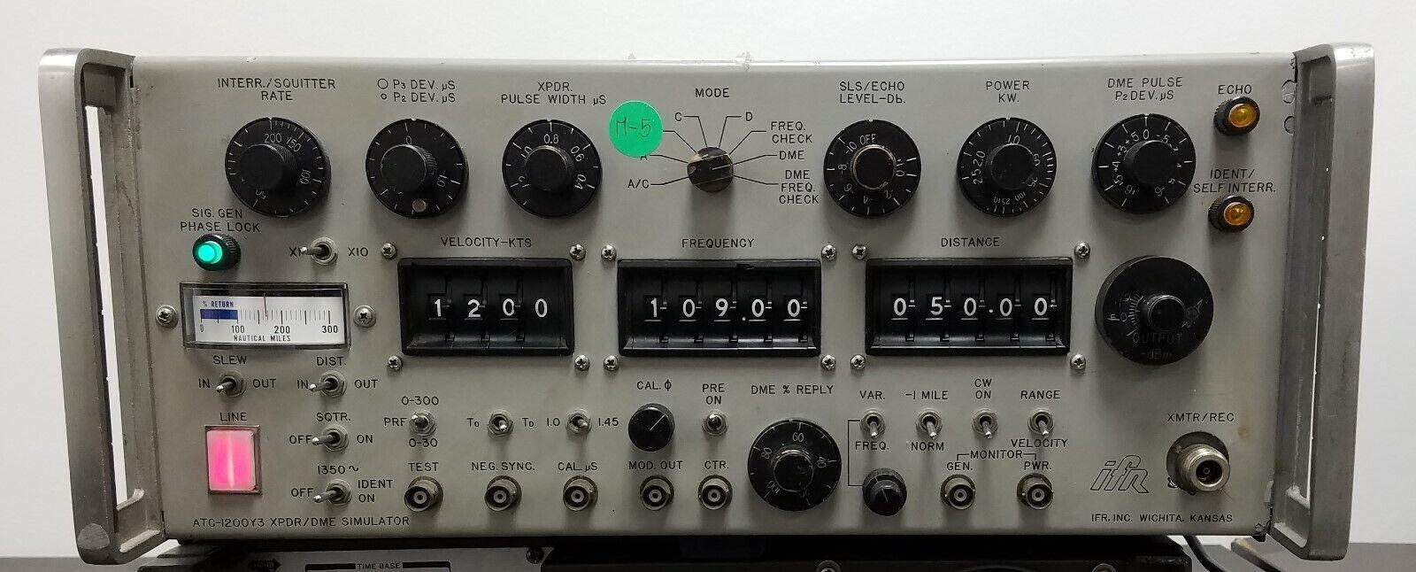 IFR ATC-1200Y3 Bench test set ATC transponder DME