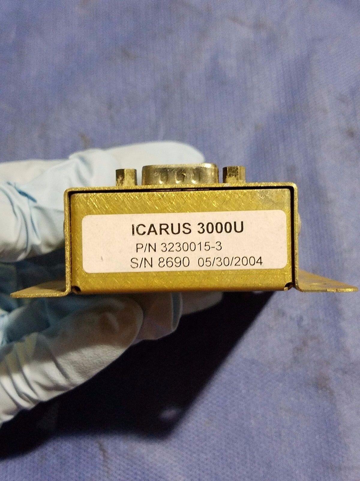 Icarus 3000U Mode C Serializer P/N 3230015-3 (0616-132)