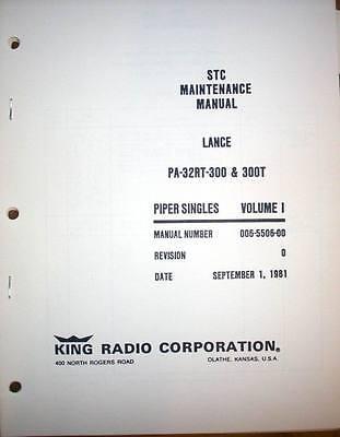 KFC 200 autopilot in Piper Lance PA-32RT-300 & PA-32RT-300T Service Manual