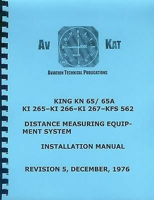 KING KN 65/65A DME SYSTEM  INSTALLATION MANUAL