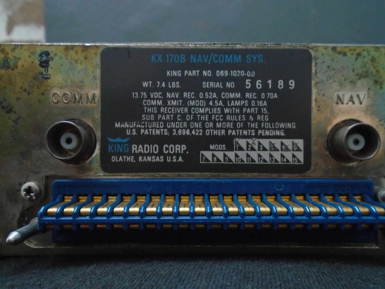 KING KX 170B NAV/COMM