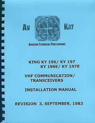 KING KY 196/197-196E/197E   INSTALLATION MANUAL