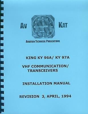 KING KY 96A / KY 97A   INSTALLATION MANUAL