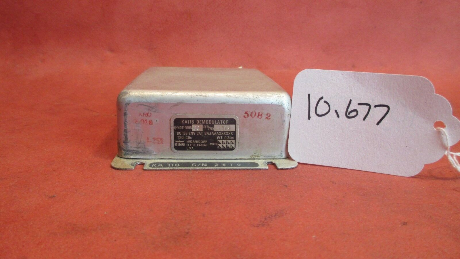 King KA118 Demodulator PN 071-1095-00