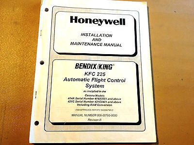 King KFC 225 Autopilot in Cessna 414A & 421C Install & Ramp Maintenance Manual