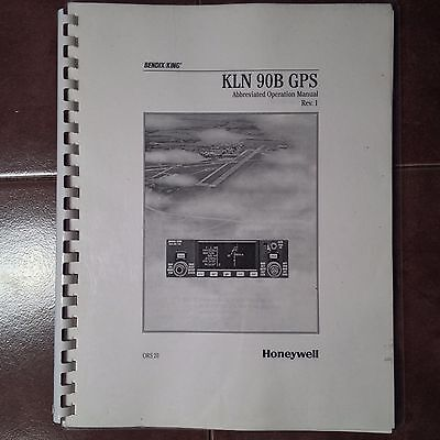 King KLN-90B GPS Abbreviated Operation Manual