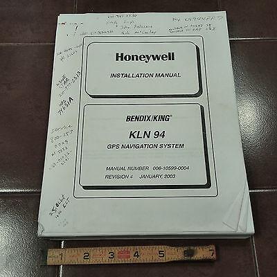King KLN 94 GPS Install Manual