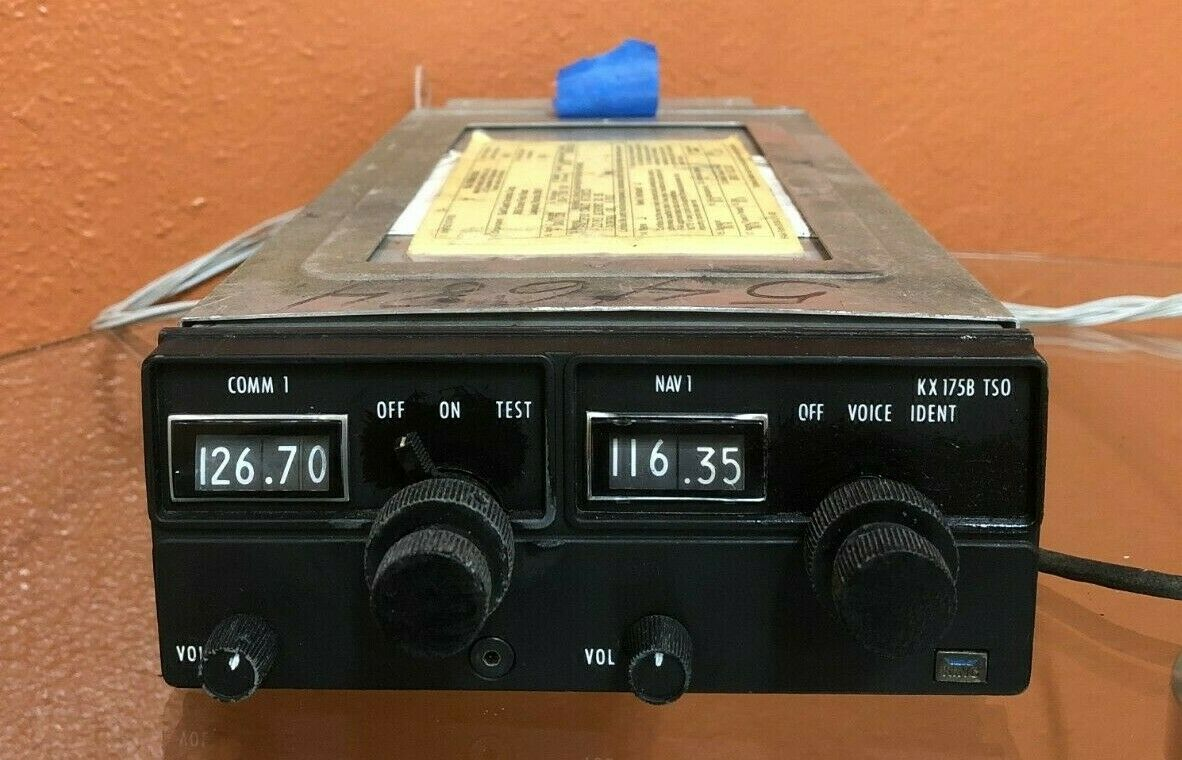 King KX 175B, Part#: 069-1019-00 w/ tray and wiring