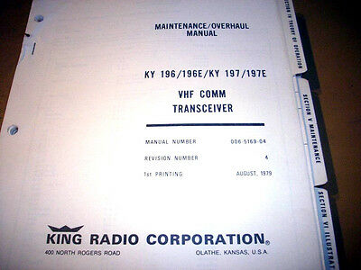 King KY-196, KY-196E, KY-197, KY-197E  Service Manual