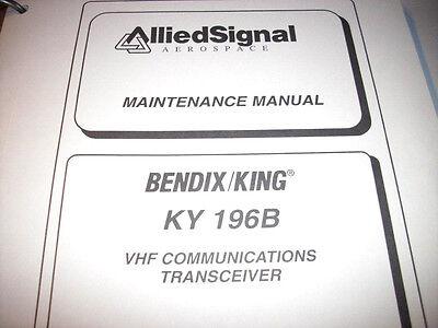 King KY 196B Comm Service manual