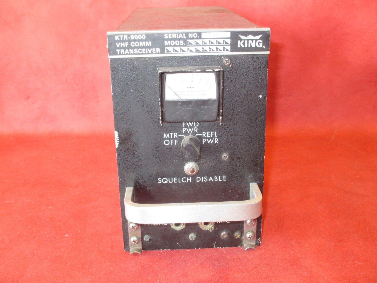 King Radio Corp KTR 9000 VHF COMM Transceiver PN 064-1004-00