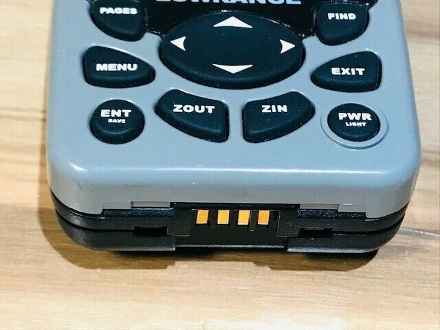 LOWRANCE FINDER 12 CHANNEL RECEIVER GPS 051-1741-00 PARTS/REPAIR/AS-IS/UNTESTED