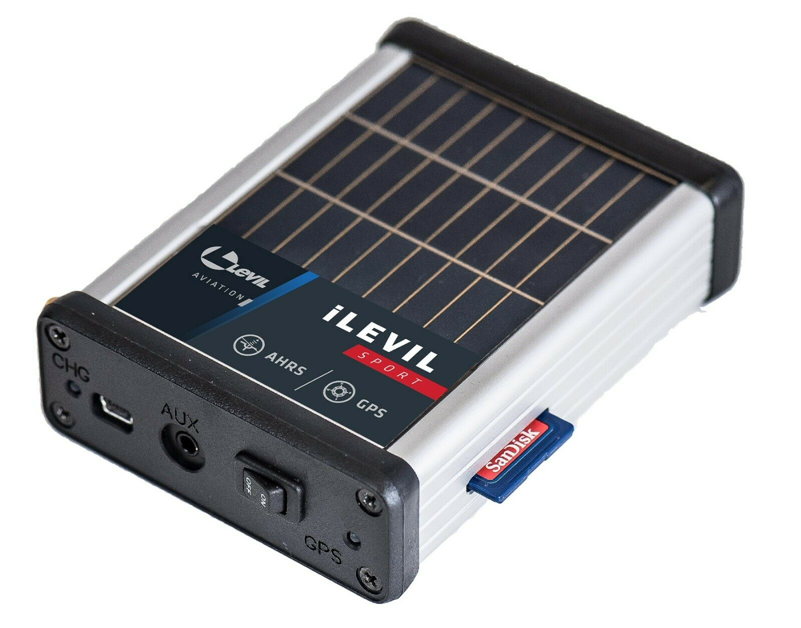 Levil 3 SW Portable ADS-B + GPS + AHRS Stratus uAvionics tailBeacon Garmin G5