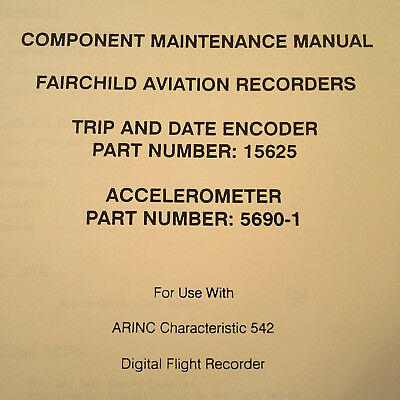 Loral Encoder 15625 & Accelerometer 5690-1 Service Parts Manual