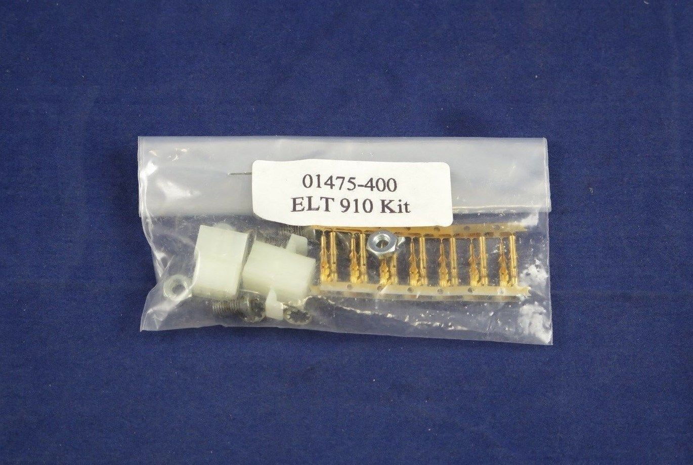Lot of 2 Connector Kits for Narco ELT 910 P/N 01475-0400 New cond. w/ SVC. tags