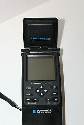 Lowrence Avionics GPS Airmap 300 12 Channel Receiver Untested for parts As is el