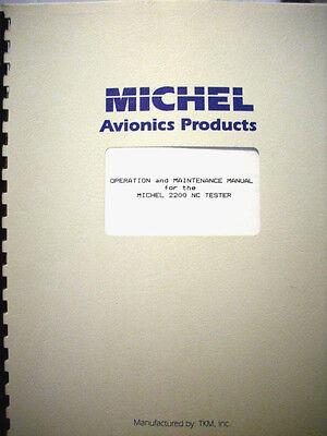 Michel 2200 Nav/Com TestSet Operation & Maintenance Manual aka MEC or TKM