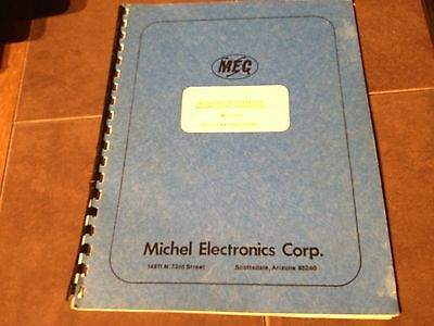Michel MEC 140 Nav/Com PortaTest Operation Maintenance Manual