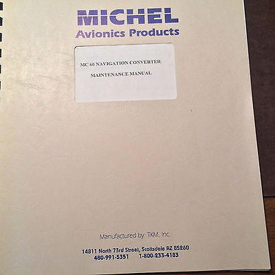 Michel MX60 Nav Converter Install & Service Manual.
