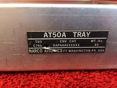 NARCO AT 165/AT50A TRANSPONDER MOUNTING TRAY