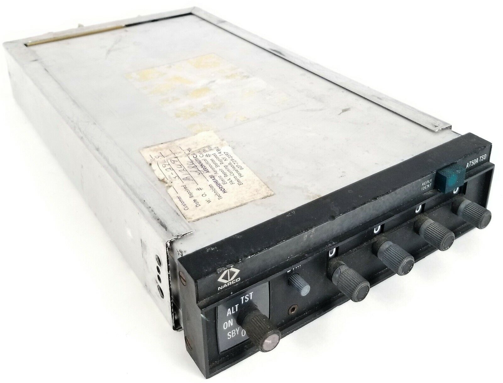 NARCO TRANSPONDER WITH MOUNTING TRAY P/N: AT50A