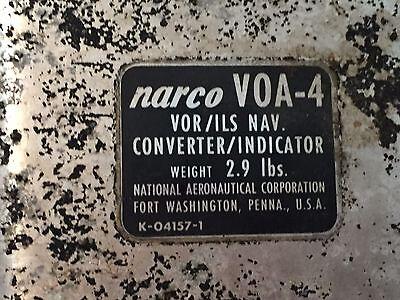 NARCO VOA-4 VOR/ILS NAV CONVERTER INDICATOR CORE