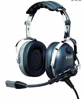 NIB PilotUSA PA-1160AI/S Aviation PNR Headset ICOM Handheld Radios Straight Plug