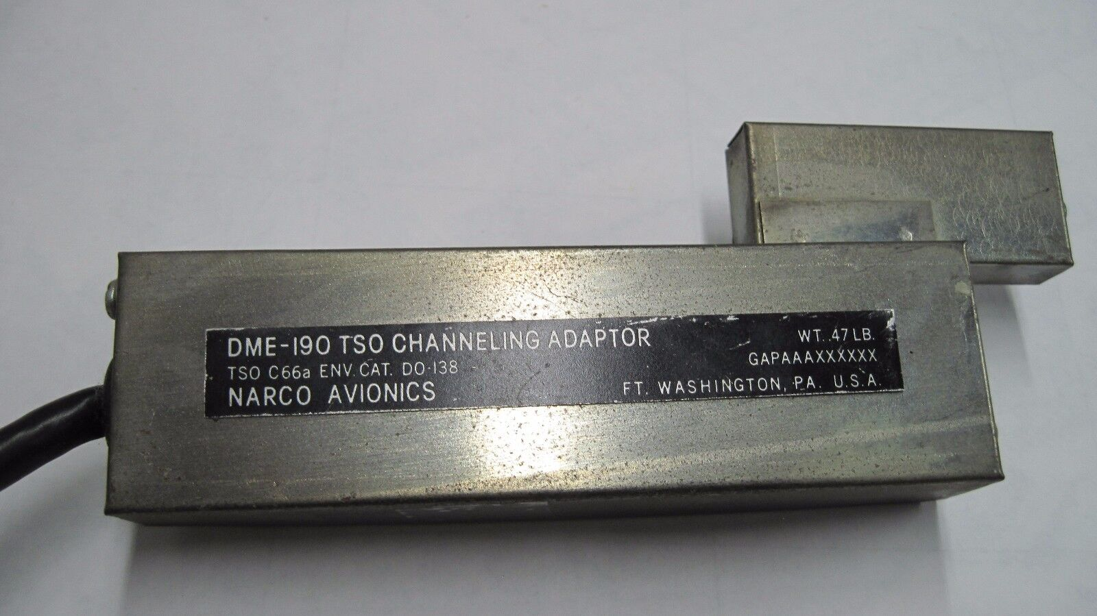 Narco DME 190 Channeling Adapter