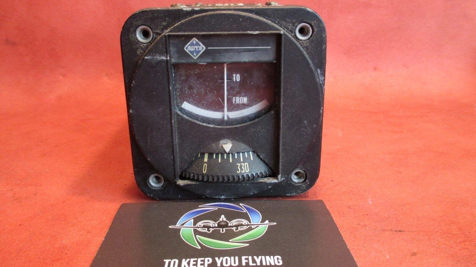 Narco, National Aeronautical Corporation VOA-6 VOR Converter Indicator 14V