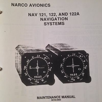 Narco Nav 121, 122 and 122A Service Parts Manual