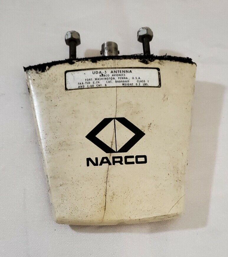 Narco UDA-3 DME Antenna, working when removed for avionics upgrade