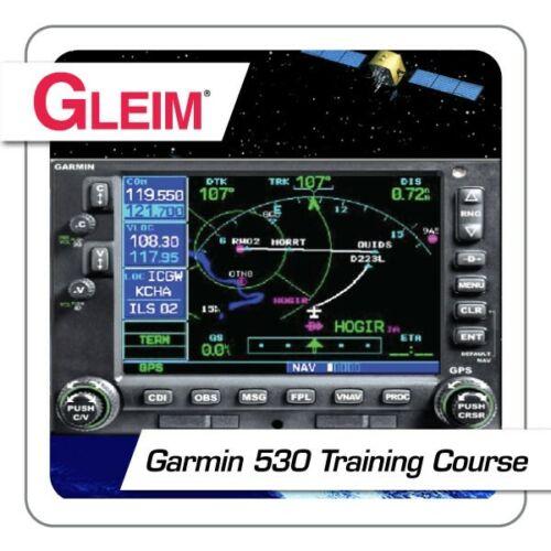 New Gleim Garmin 530 Training Course Online ISBN: 978-1-58194-074-9 [GLEIM G530]