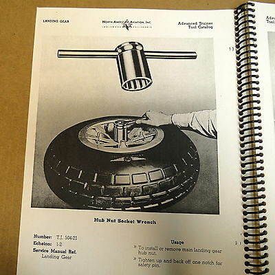 North American Aviation Special Axle Nut Tool AT-6 SNJ P-51 Aircraft