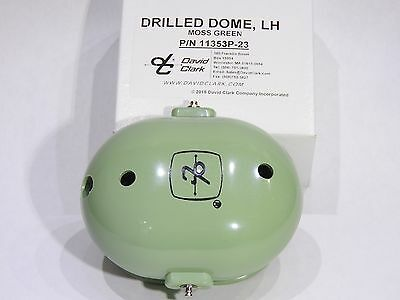 ORIGINAL DAVID CLARK 3 pc. REPLACEMENT DOMES & SHIELD for H-3312, H3310 + others