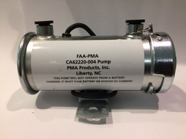 PMA FUEL PUMP - CA62220-004 - PIPER 62220-004, 24 VOLT