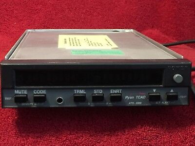 RYAN TCAD ATS 8000 AIR TRAFFIC UNIT P/N 70-1000 WITH TRAY
