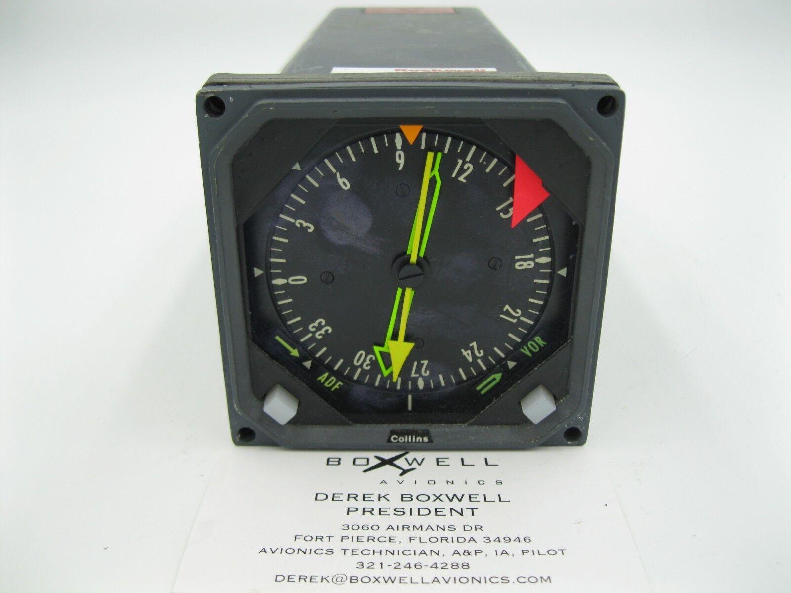 Rockwell Collins 332C-10 Radio Magnetic Indicator RMI 622-555-008