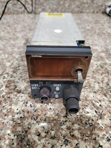 Rockwell Collins CTL-92 Transponder Control PN: 622-6523-005