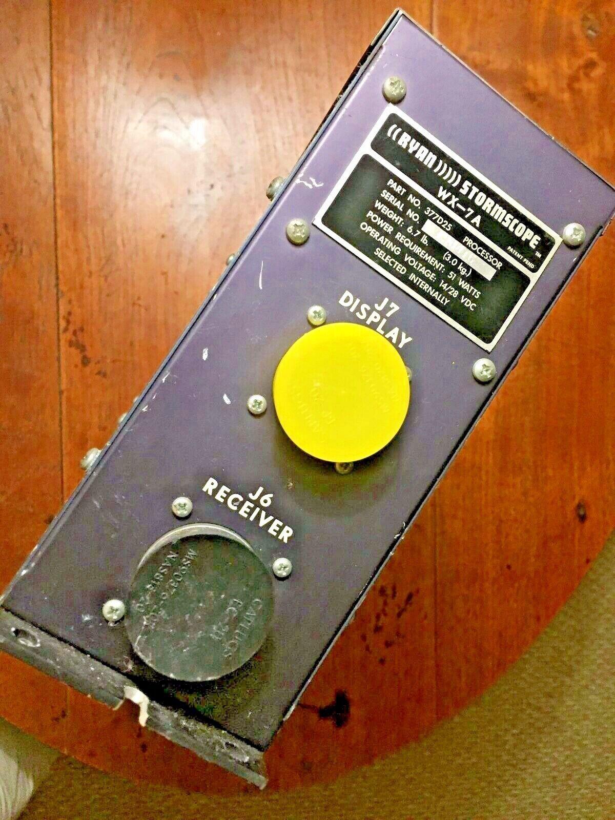 Ryan Stormscope Processor, WX-7A, PN 377D25