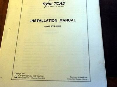 Ryan TCAD ATS-8000 install manual