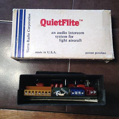 Sierra Radio QuietFlite Intercom