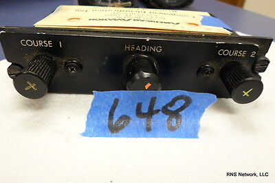 Sperry RI-206 Instrument Remote Controller P/N 4026206-902 s/n 80040684 (AR)