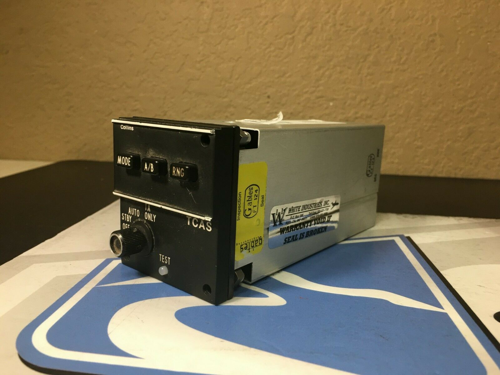 TCAS Control CTL93T 822-2182-15 Removed Working