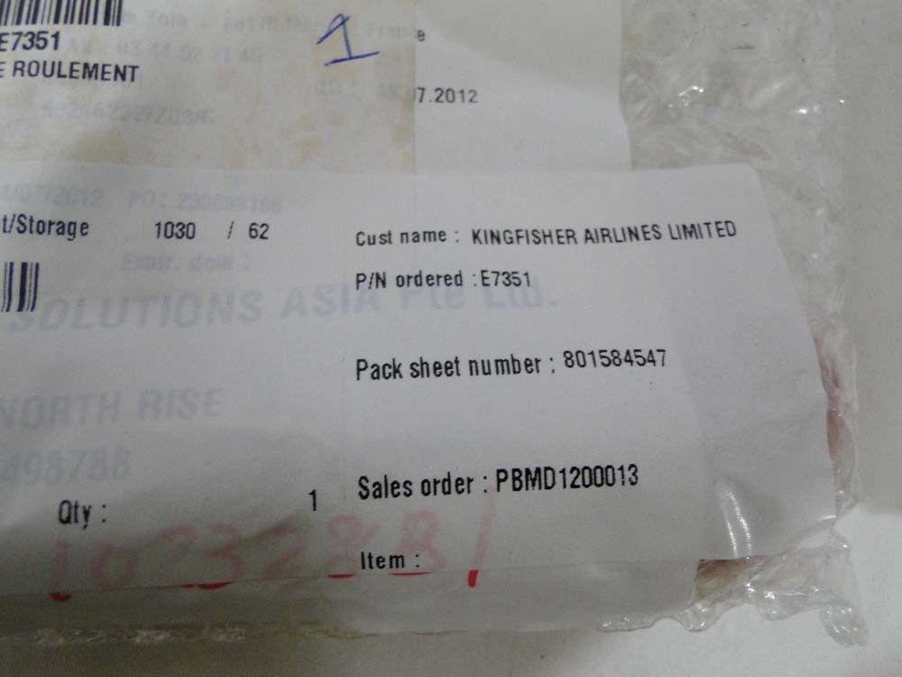 THALES P/N: E7351 POUSSE ROULEMENT 801584547 TOOL