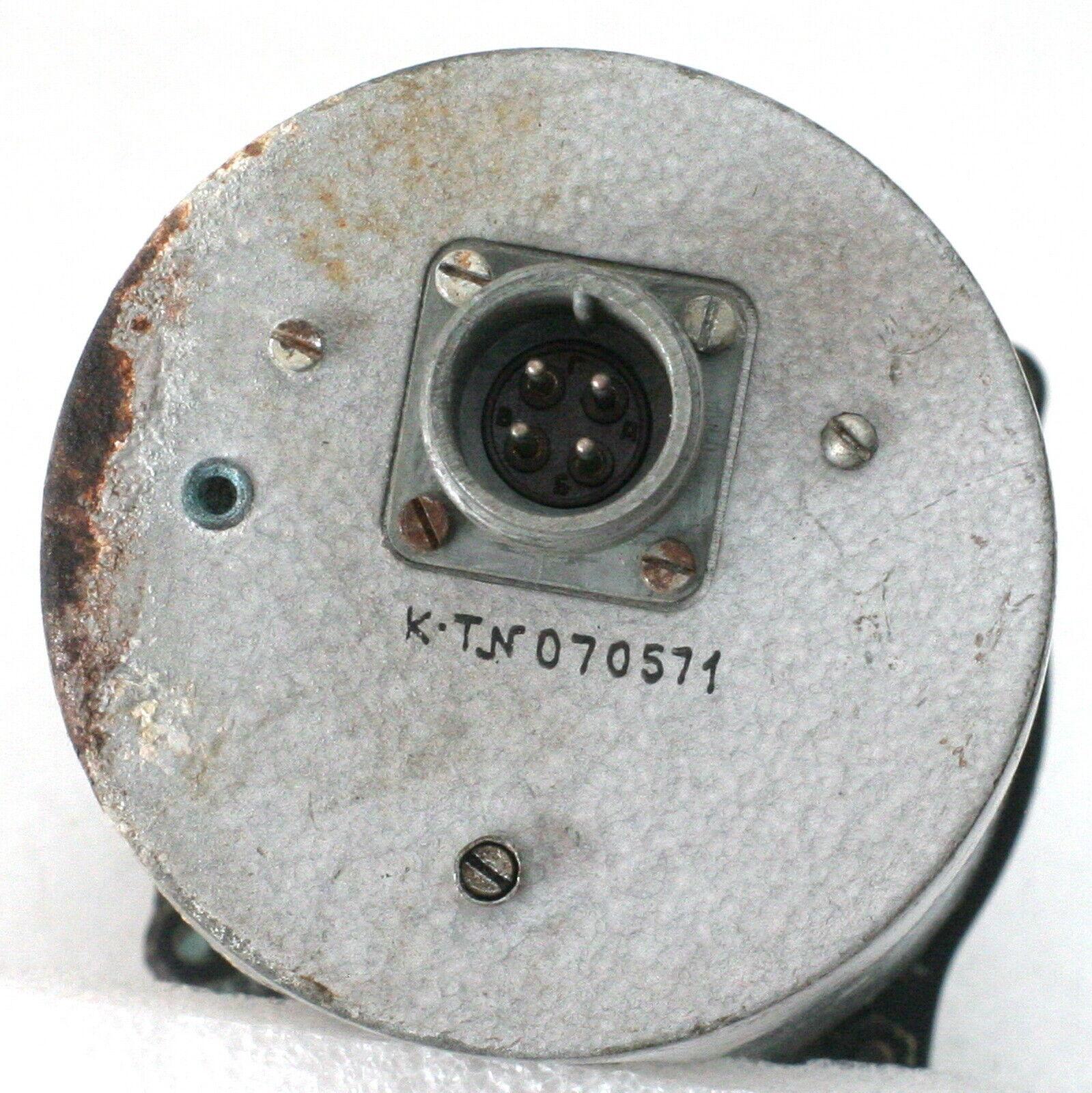 Vintage Soviet Russian Aircraft Speedometer Indicator