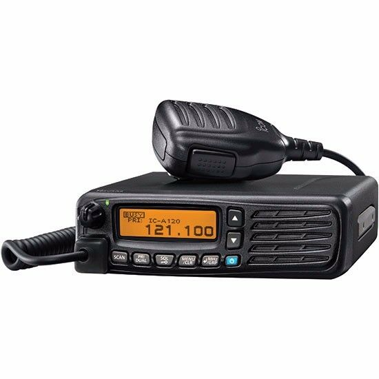 iCom IC-A120  VHF Airband Transceiver Radio Mobile Mount Unit