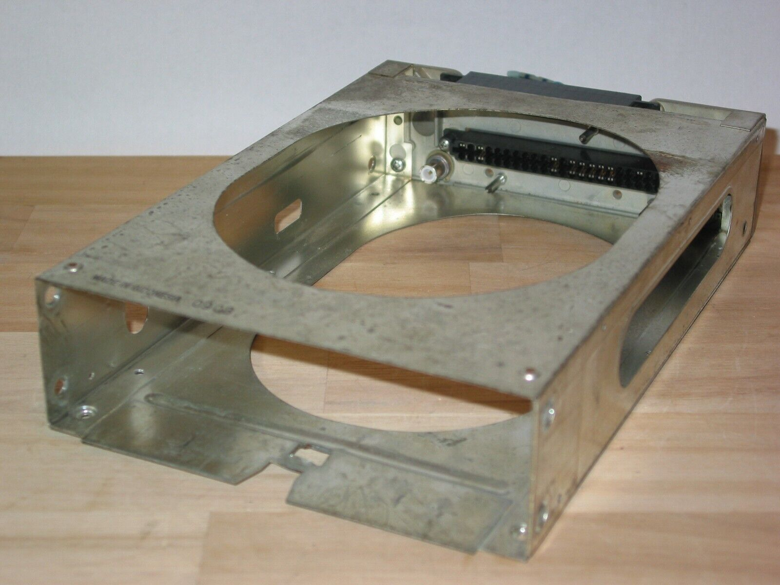 BENDIX KING KX-165A !!! TRAY WITH BACKPLATE WIRING CONNECTORS AND ANTENNAS !!!