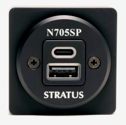 BRAND NEW! Stratus TSO-certified charging port w/ USB-C and A. Free shipping!